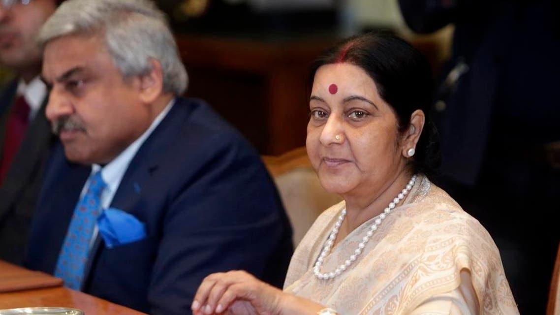 Sushma Swaraj  indian FM AP