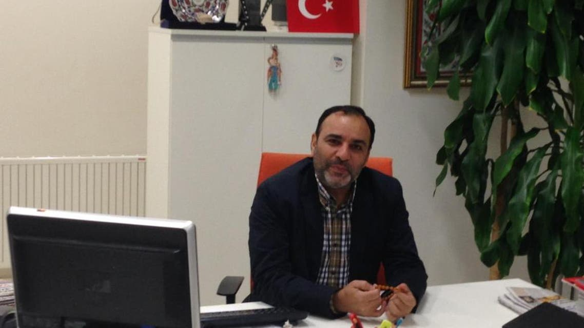 Today's Zaman chief editor Bulent Kenes was detained at its Istanbul offices on Friday after a court issued an arrest warrant. (Via @bkenes Twitter page)