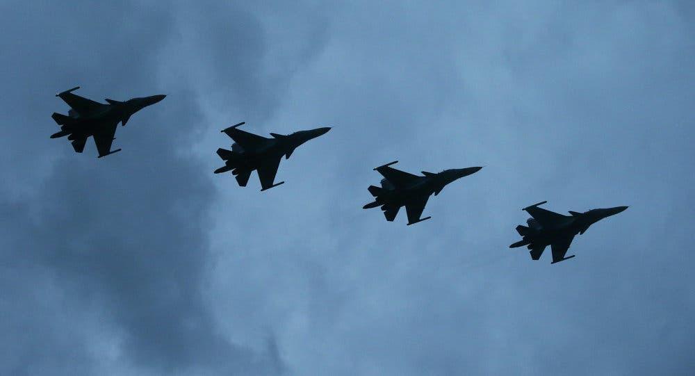طائرات روسية في أجواء سوريا