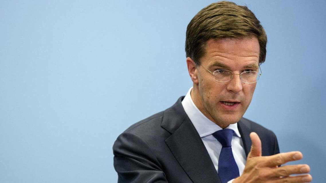 PM Mark Rutte urged. (File photo: Reuters