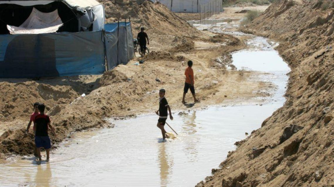 اغراق حدود غزة بالمياه الجيش المصري الانفاق رفح