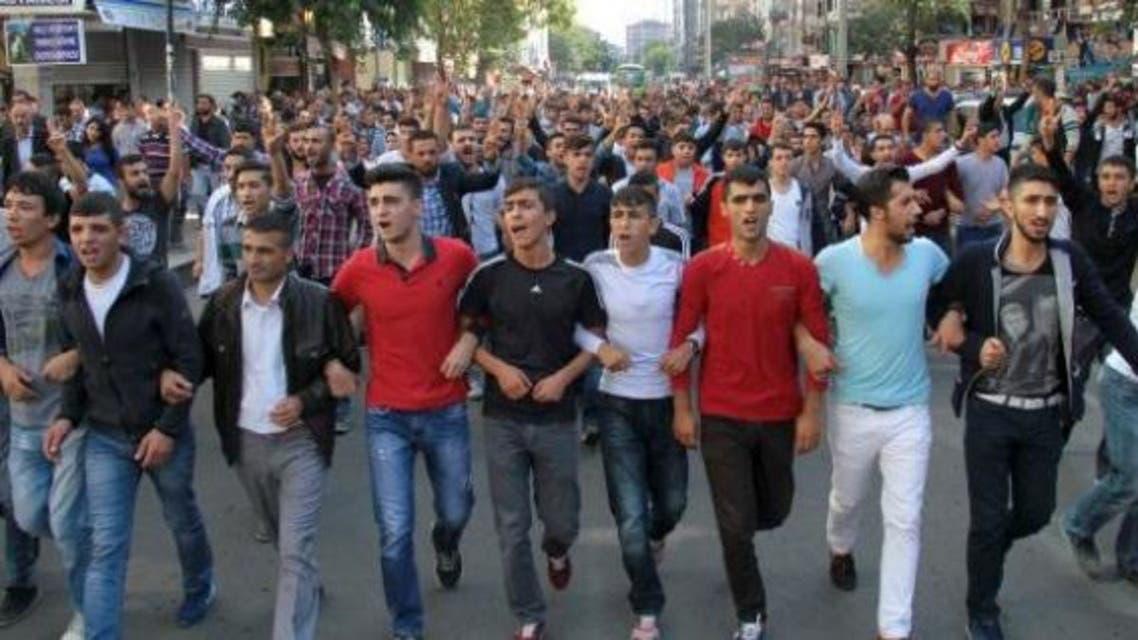 مؤيدي الاكراد يتظاهرون في باريس تنديدا بهجوم انقرة