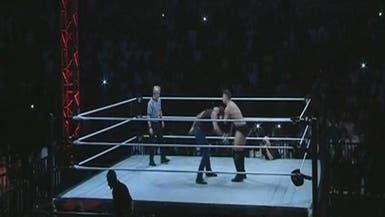 منافسات المصارعة الحرة WWE للمرة الأولى في جدة