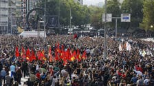 Thousands protest deadly bombings in Ankara