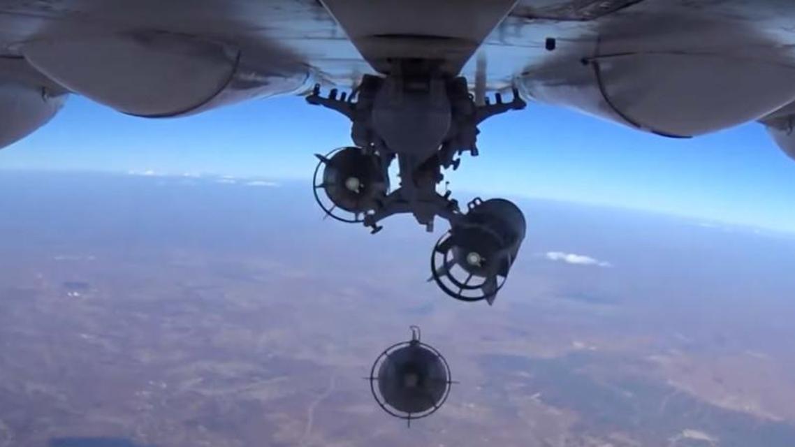 روسيا - غارات - سوريا