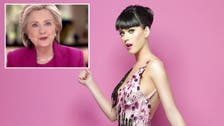Katy Perry set to 'Roar' for Hillary - will there be a campaign song?
