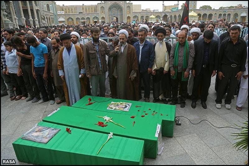 قربانیان افغان ىر جنگ سوریه در ایران تشییع میشوند