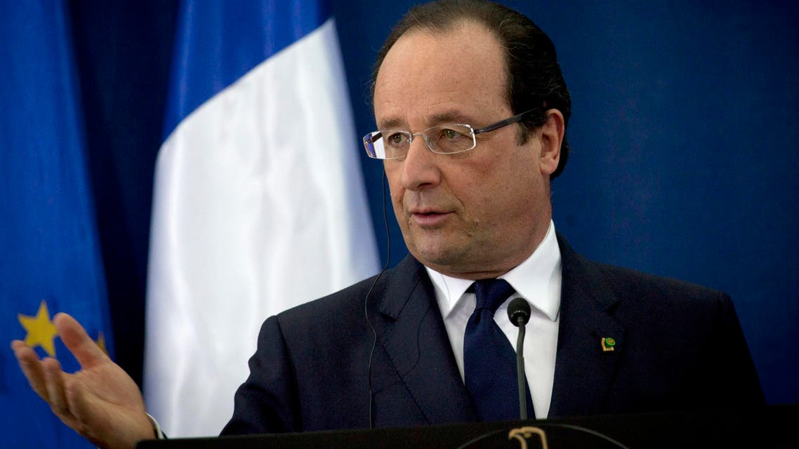 French President Francois Hollande  AP