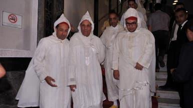 الجلباب التقليدي المغربي بطل الافتتاح السنوي للبرلمان