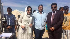 Iraqi couple celebrate wedding by donating to refugees