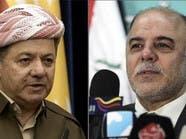 العبادي يبحث مع بارزاني تظاهرات كردستان وتحرير الموصل