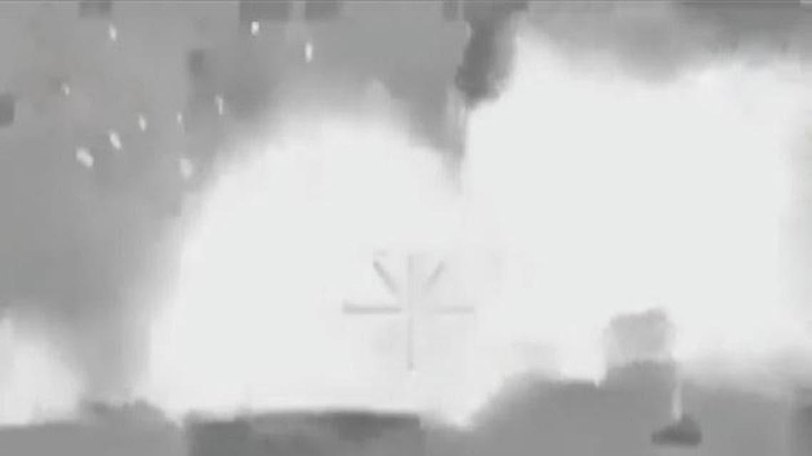 غارات روسية