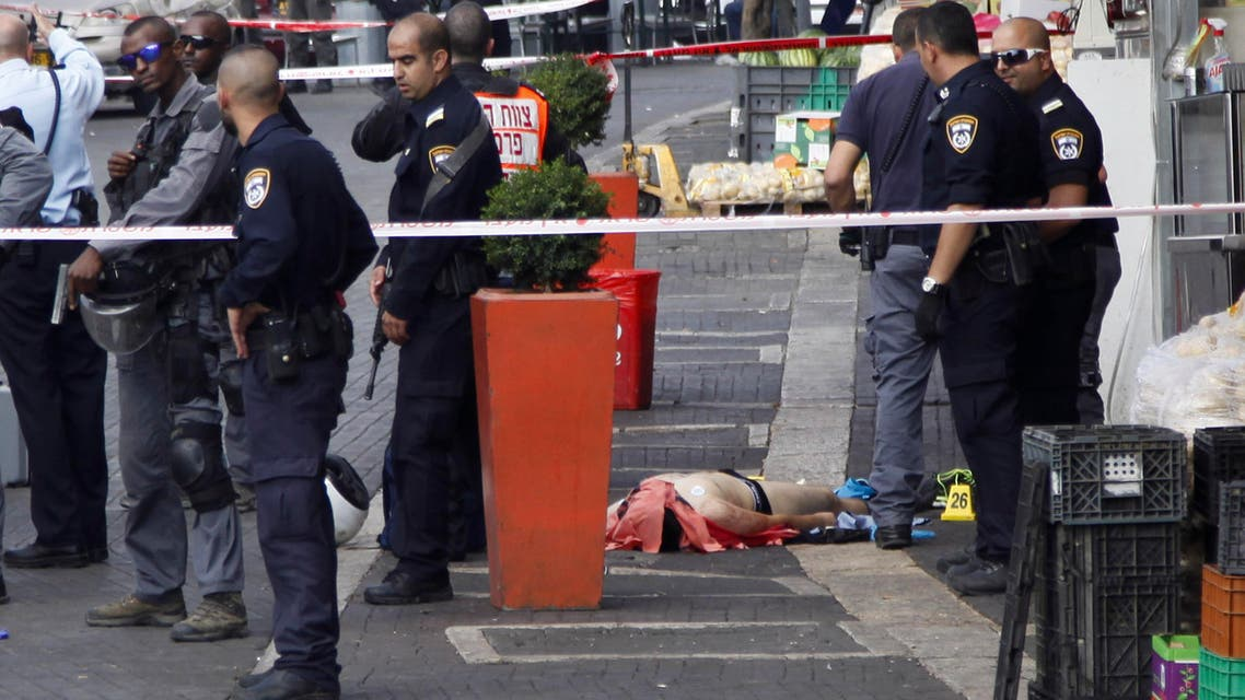 A Palestinian man was shot dead after he allegedly stabbed an Israeli policeman at an entrance to Jerusalem's Old City