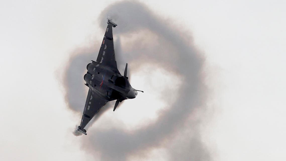 A French Rafale-2 jet fighter AP