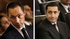 Egypt clears ex-leader Mubarak's sons and six others over stock exchange case