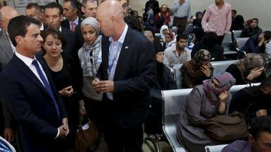 الأردن.. فالس يزور قاعدة عسكرية وكنيسة تؤوي لاجئين