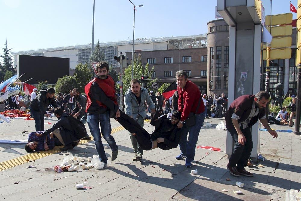 من مذبحة أنقرة 2015