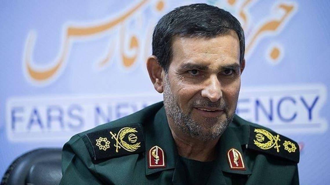 قائد البحرية الإيرانية التابعة للحرس الثوري الأدميرال علي رضا تنكسيري
