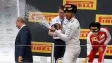 I never sprayed Putin, says Hamilton