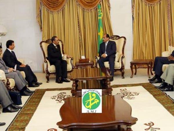 الرئيس الموريتاني يستقبل مساعد وزير الدفاع السعودي