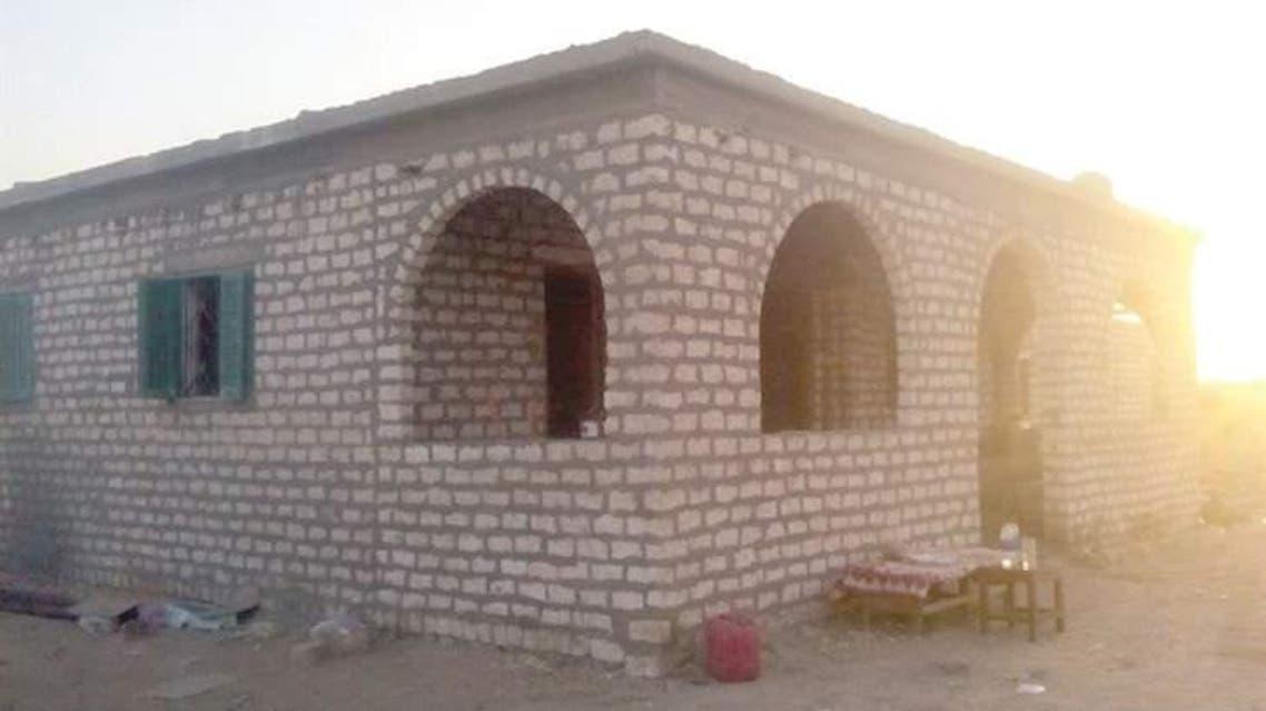 المنزل الذي قتلت فيه الضحيتين