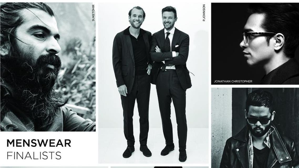 The six finalists of the International Woolmark Prize for menswear