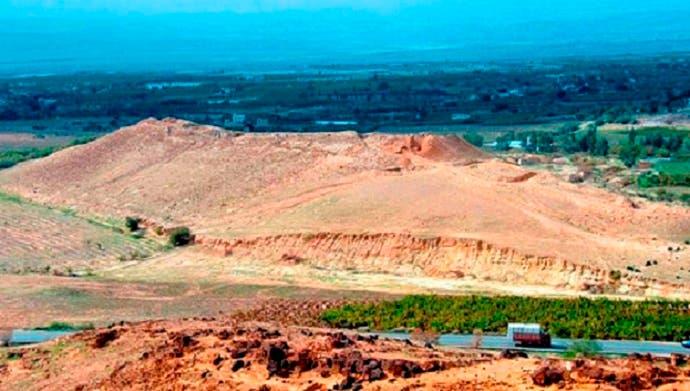 منطقة تل الحمام في الجنوب الأردني، هنا كانت سدوم التي حل فيها الخراب فجأة