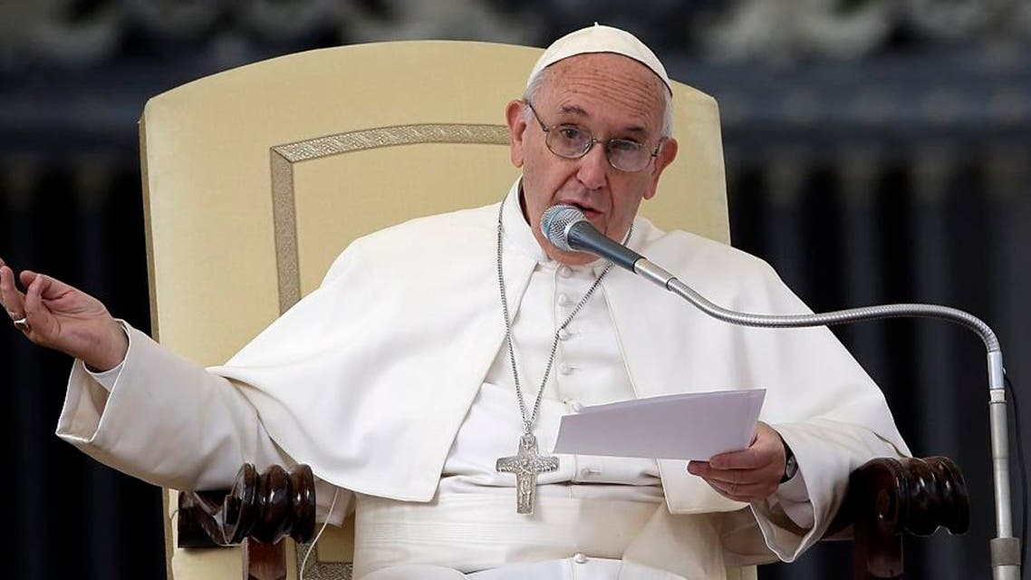 Pope Fracis publicly apologizes for scandals within Vatican City.  (AP Images)