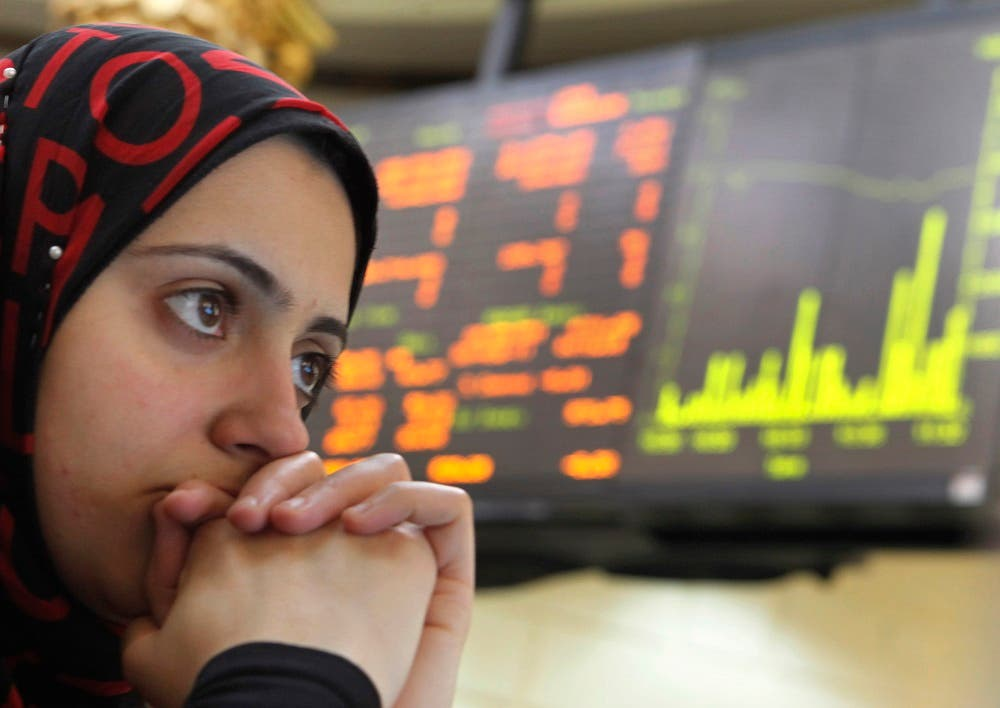 Egypt economy stock market  (file photo: AP)