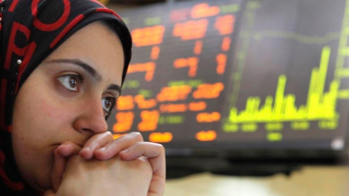 Egypt economy stock market  (file photo: AP)