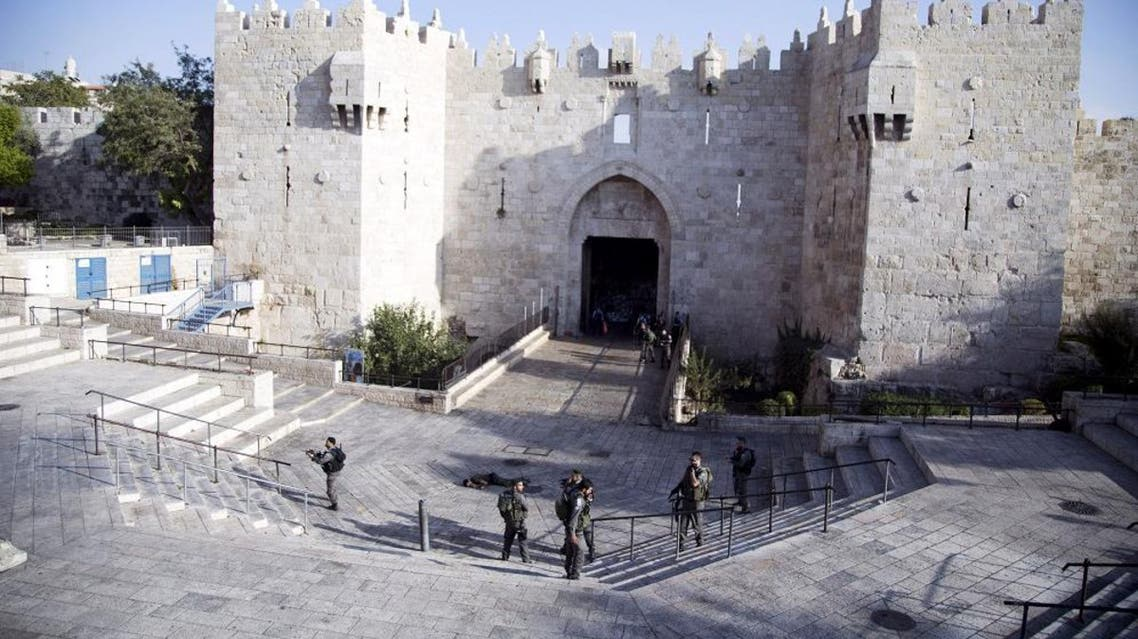 Seven Israelis and 31 Palestinians, including assailants,  children and protesters in violent anti-Israeli demonstrations,  have been killed in two weeks of bloodshed.                The violence has been partly triggered by Palestinians'  anger over what they see as increased Jewish encroachment on  Jerusalem's Al-Aqsa mosque compound, also revered by Jews as the  site of two destroyed Jewish temples.                There is also deep-seated frustration with the failure of  years of peace efforts to achieve Palestinian statehood and end  Israeli settlement-building in the West Bank and East Jerusalem. Reuters