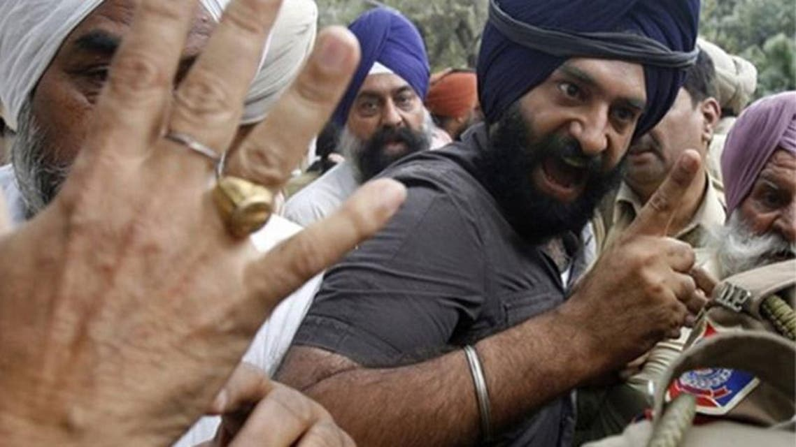 Indian Sikh Protest