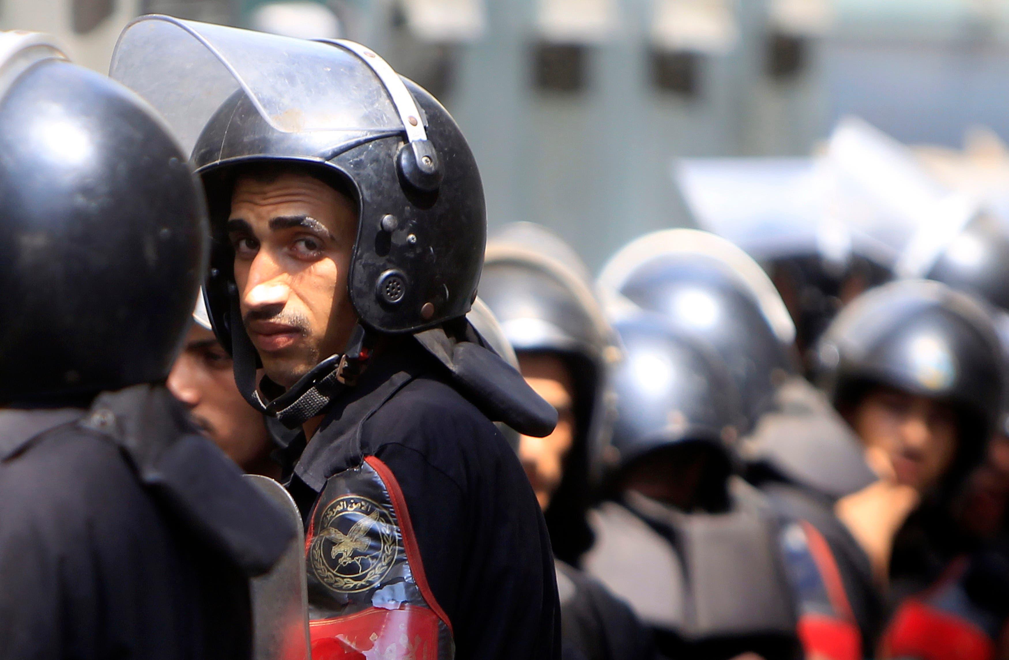 من قوات الأمن المصرية (فرانس برس)