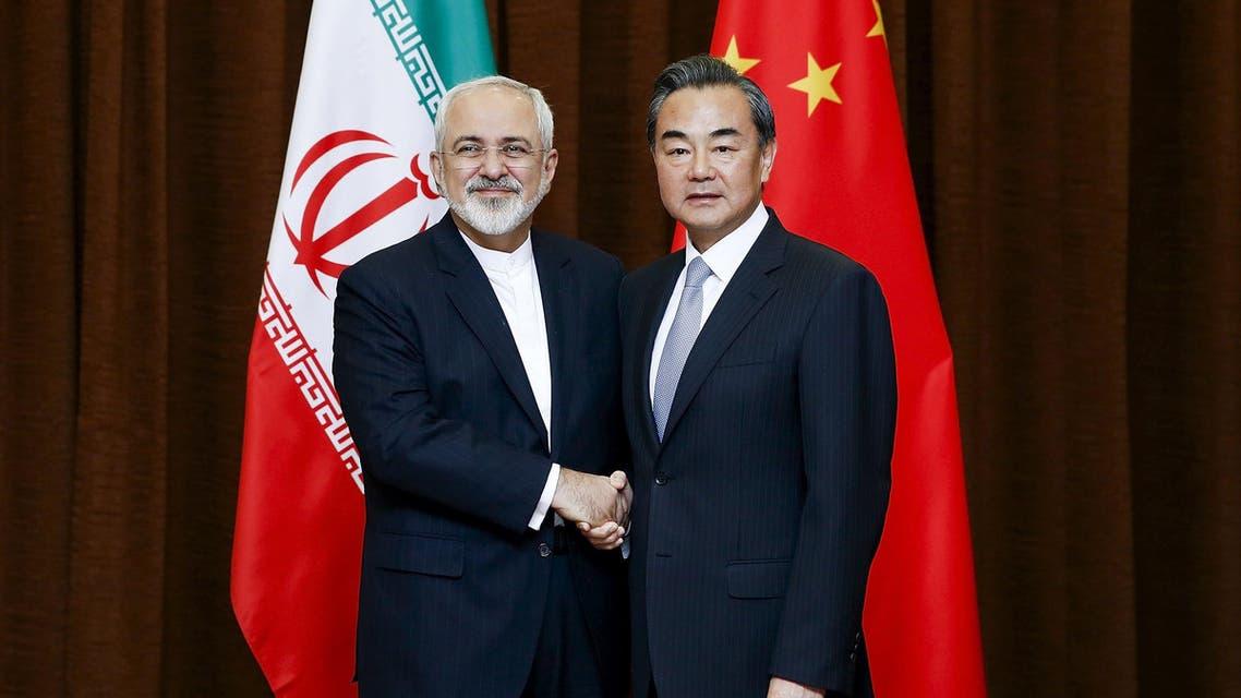 الصين - إيران- زيارة - ظريف - بكين