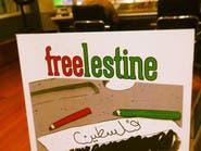 Freelestine شريط مرسوم لدعم فلسطين بريشة جزائريين