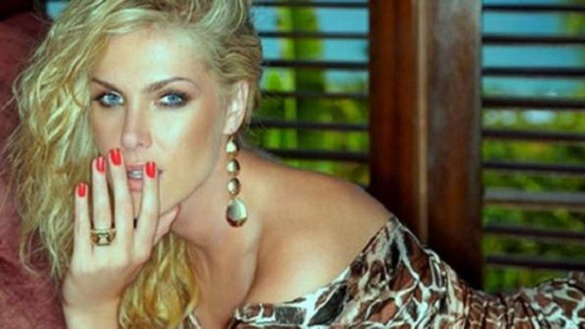 """Hickmann, 33, was born in Santa Cruz Do Sol in south of Brazil. She presents a well-know Brazilian TV show called """"Hoje em Dia"""" meaning """"In these days."""" (Via Twitter)"""