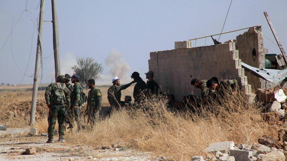 قوات نظام الأسد في ريف حلب