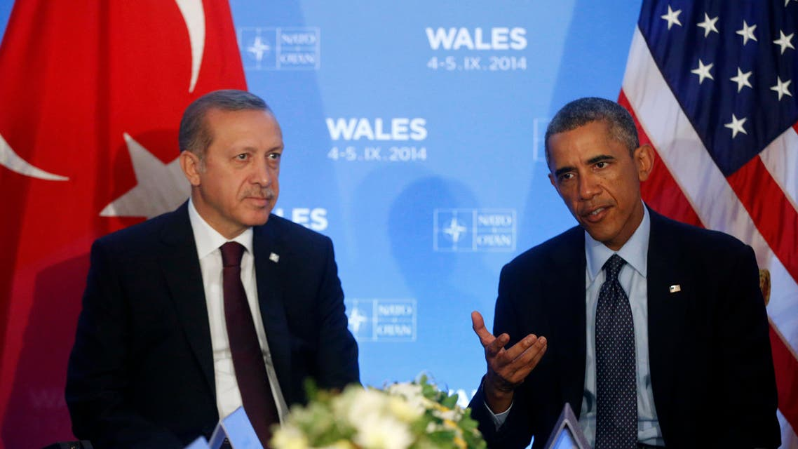erdogan and obama AP