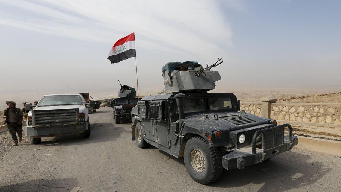 القوات العراقية في شمال بيجي