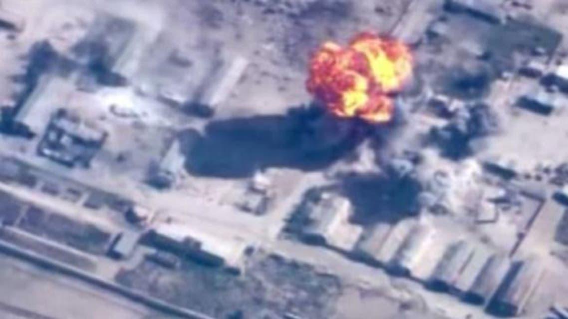 قصف مواقع داعش في العراق