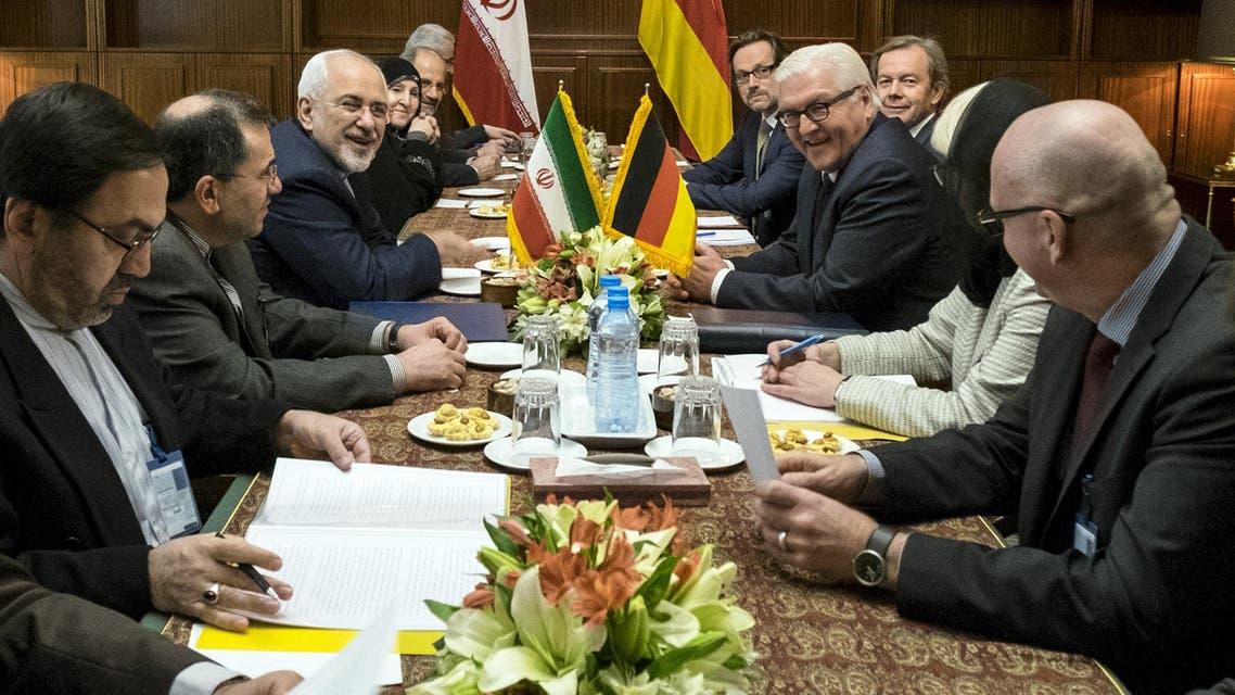 وزير الخارجية الألماني في طهران