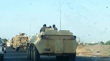 قوات سودانية تصل إلى عدن وتنشر جنودها وآلياتها العسكرية