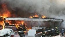 تل ابیب بس ڈپو میں آگ، 35 بسیں کوئلہ بن گئیں