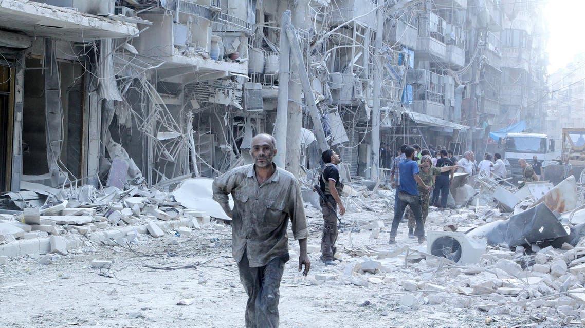 حلب - قصف - سوريا