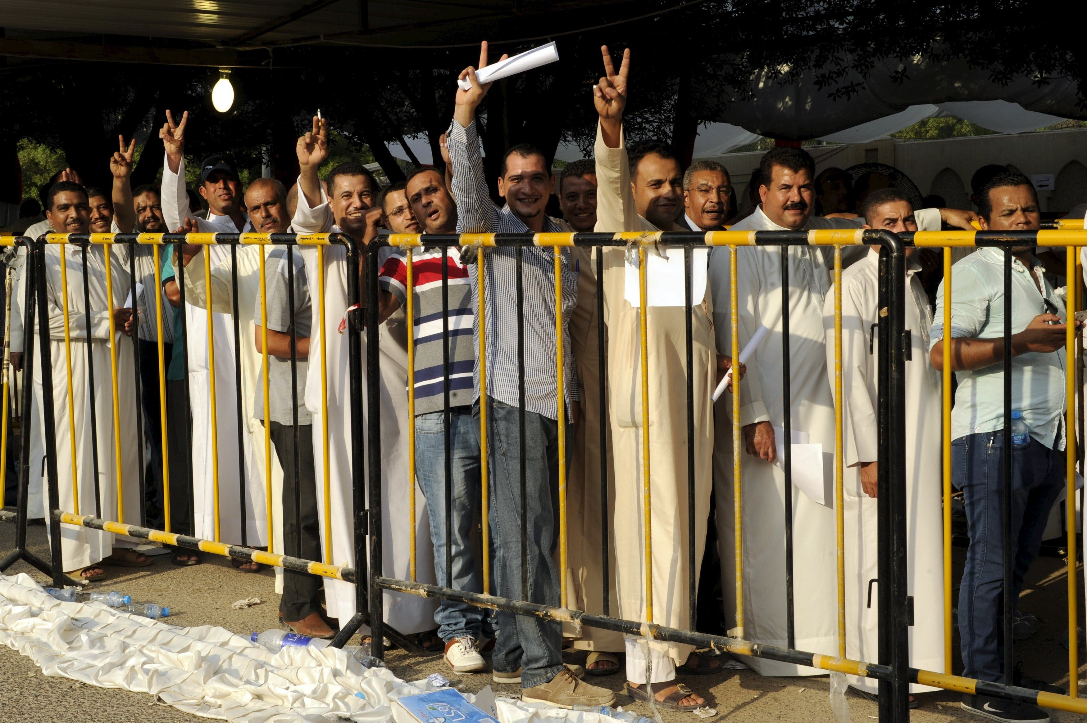 Egyptians vote for parliamentary elections