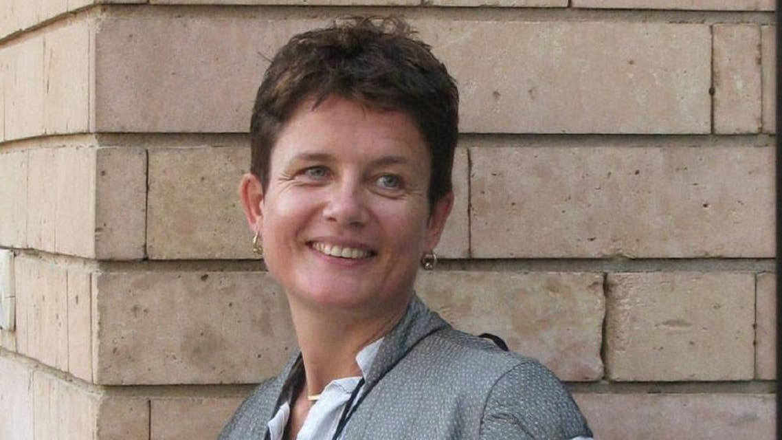 Ex-BBC journalist, Jacky Sutton, was found dead in a lavatory at the city's main airport