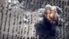 Civilians killed in suspected Russian strikes on Syria