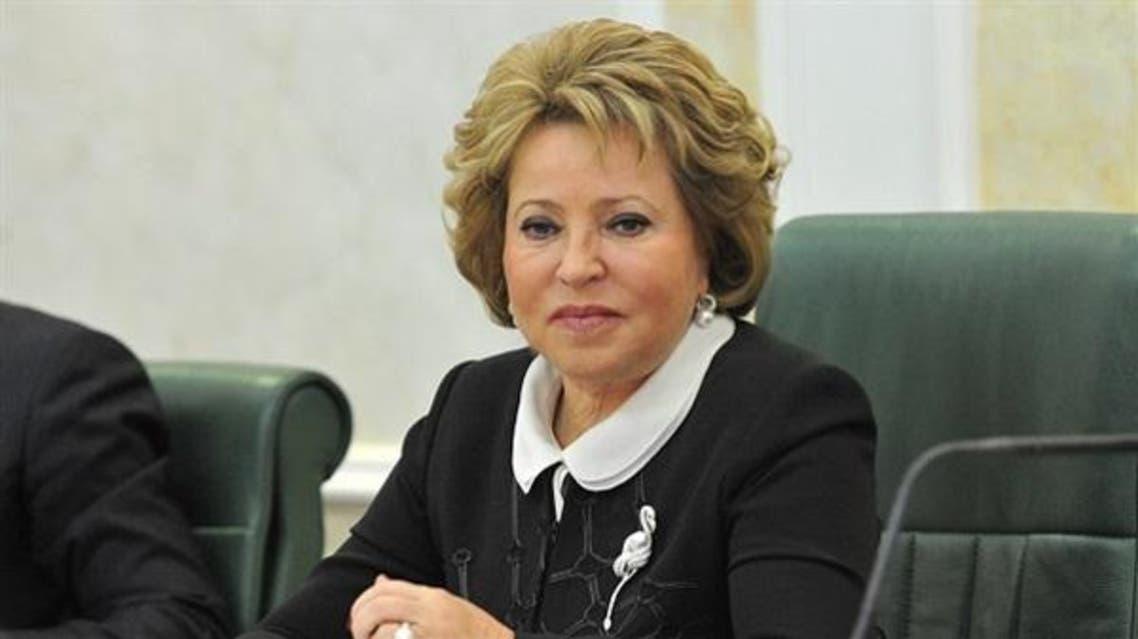 فالنتينا ماتفيينكو، رئيسة المجلس الأعلى بالبرلمان الروسي