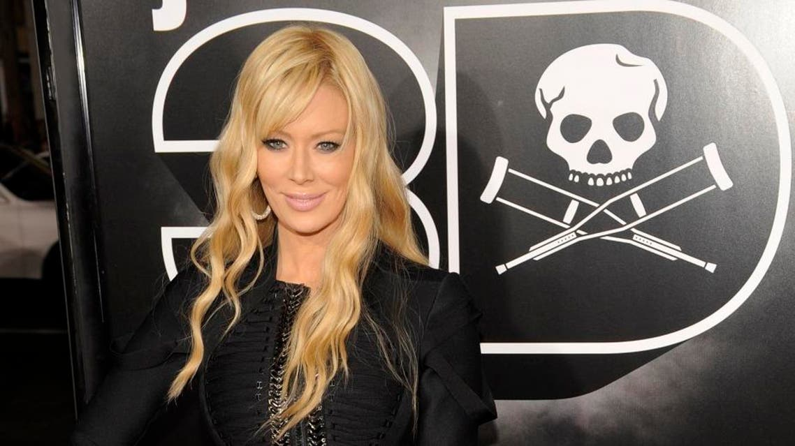 "Jenna Jameson poses at the premiere of the film ""Jackass 3D"" in Los Angeles. (File photo: AP)"
