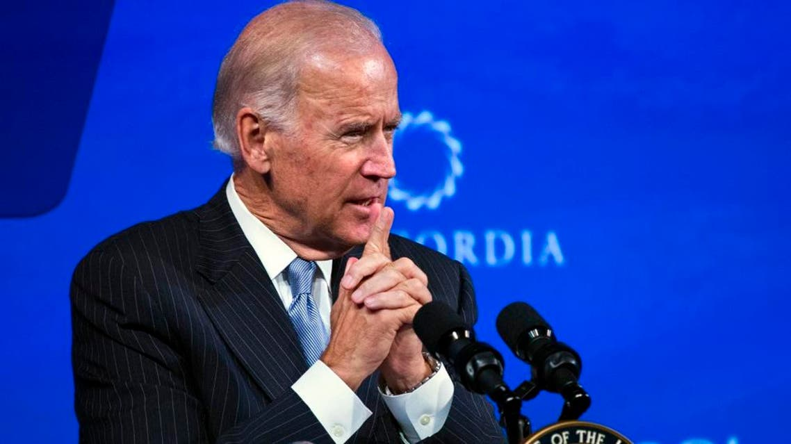 U.S. Vice President Joe Biden speaks during the Concordia Summit in New York